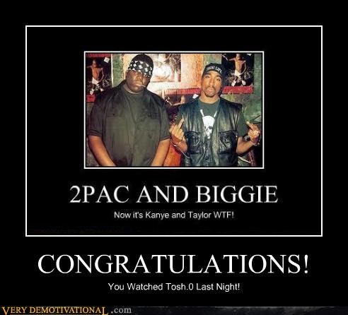 congratulations stole joke Biggie