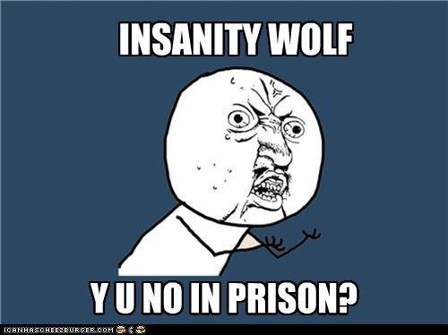 bad wolf prison Y U No Guy - 4405966848