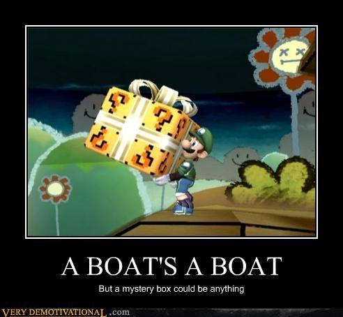 mystery box luigi boat - 4406214912