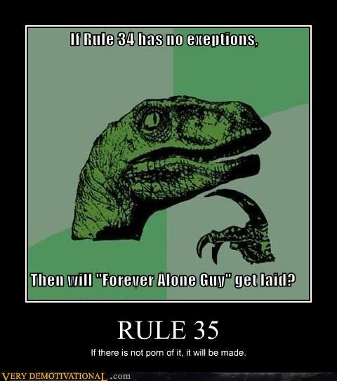 philosoraptor Rule 35 old question