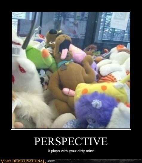 scooby doo,dirty mind,perspective