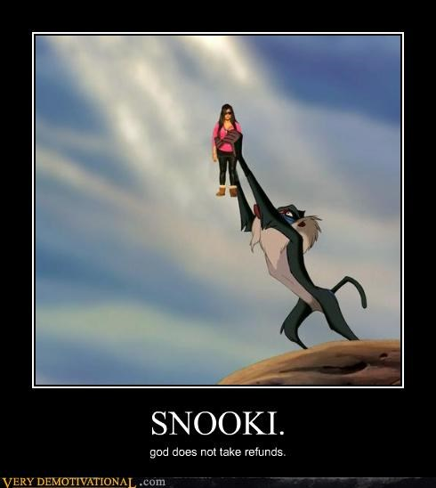 god returns snooki refunds lion king - 4406529280