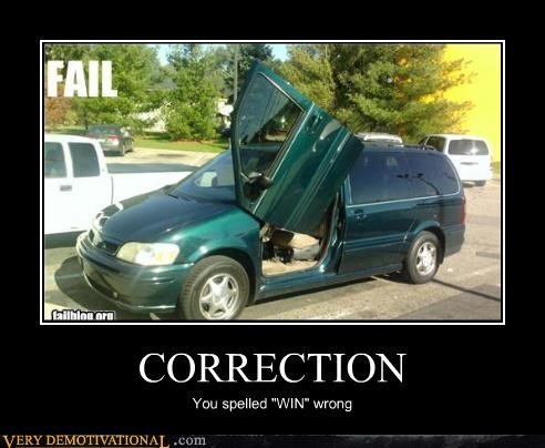 door,van,correction,win