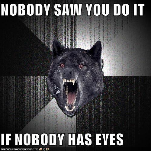 eyes Insanity Wolf - 4406769408