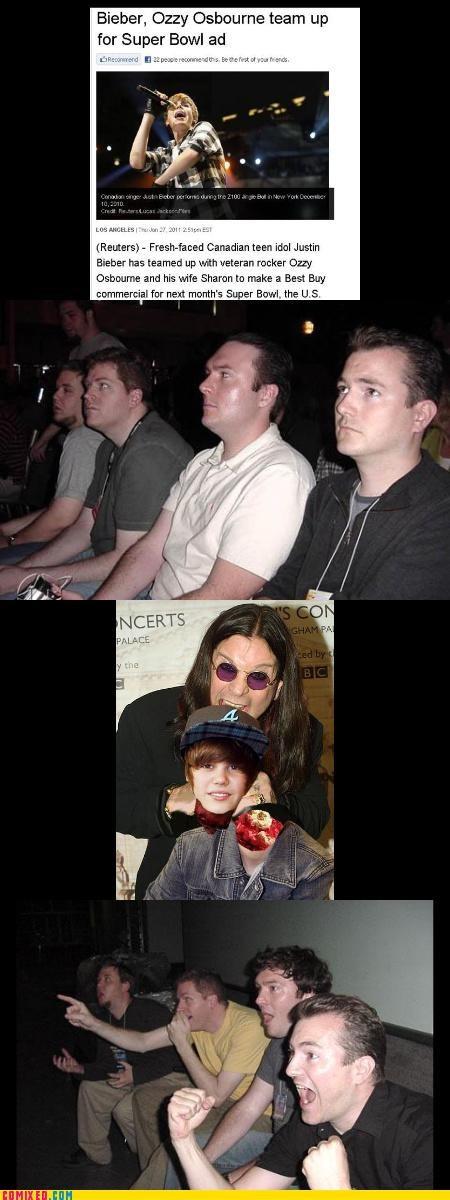 justin bieber Ozzy Osbourne reaction guys - 4407480064
