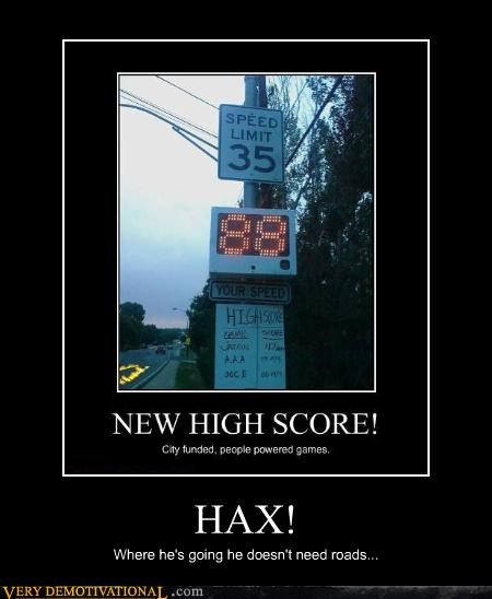 back to the future hax roads