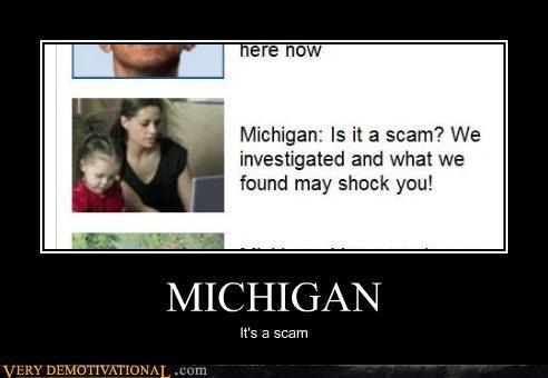 usa michigan state scam idiots - 4408401408