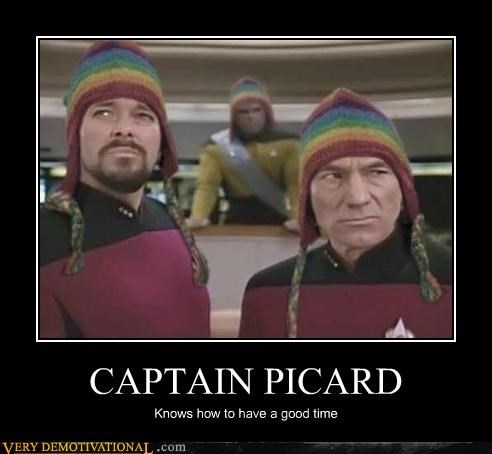 hats,jean-luc picard,Star Trek