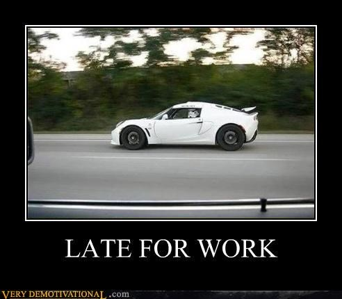 car stormtrooper late for work - 4408785920
