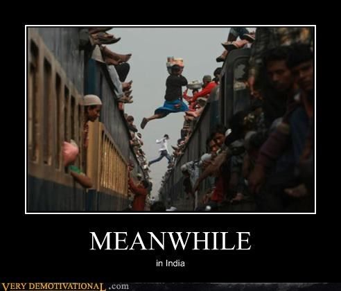 wtf good idea Meanwhile india train jumping