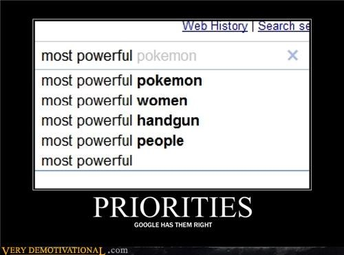 search,priorities,google