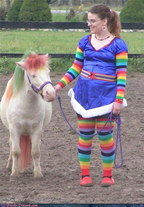 horse pony rainbow rainbow brite wtf - 4410426368