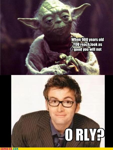 aging beauty doctor who secrets star wars the internets Time Lords yoda - 4410844672