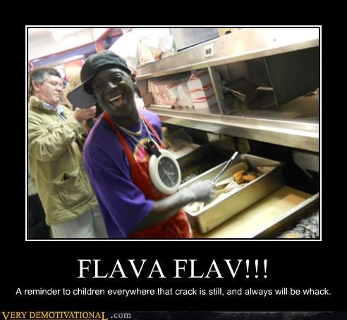 Flava Flav,drug stuff,fast food