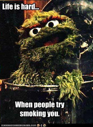 funny oscar the grouch Sesame Street - 4410949120