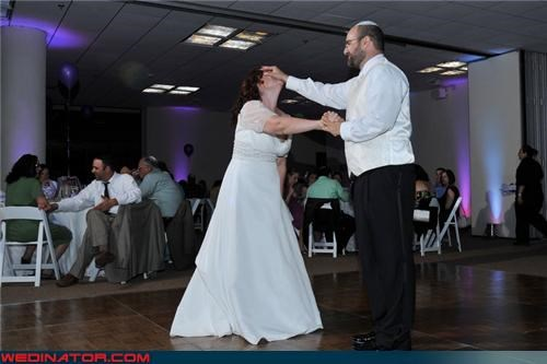 bride crazy groom eww face push first dance funny wedding photos groom in yo face bride in yo face wife mean groom miscellaneous-oops misunderstanding surprise were-in-love wedding first dance wtf - 4411056384
