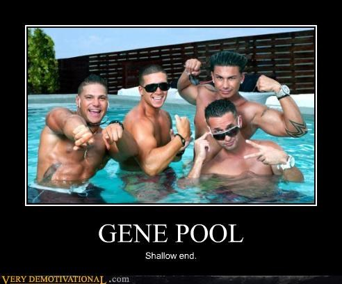 GENE POOL Shallow end.