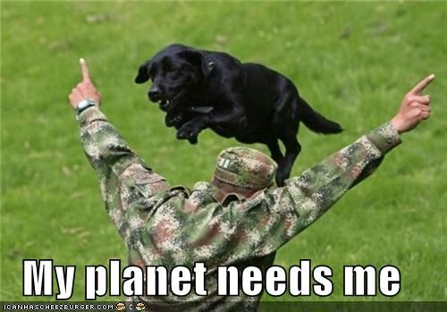 alien animals dogs jump military planet soldier training