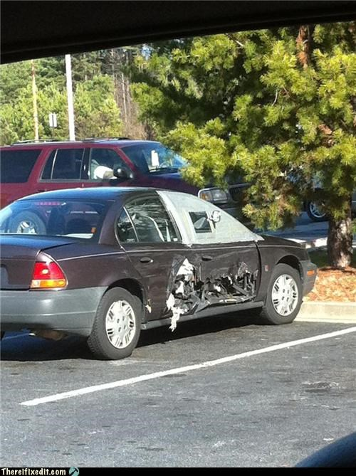 cars,dangerous,duct tape,no idea,wtf