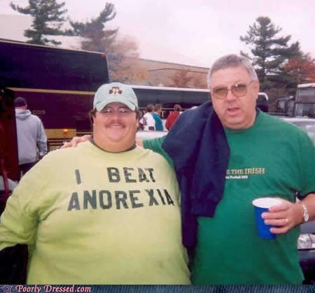 anorexia,fat,shirt,words