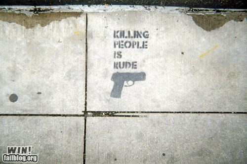 graffiti,guns,hacked,stencil