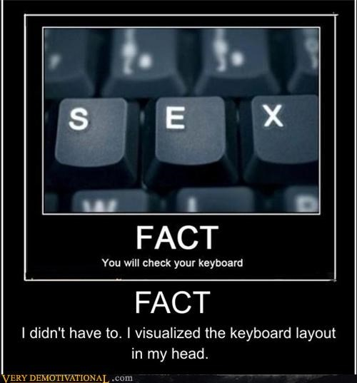 sex fact keyboard