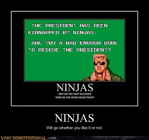 ninja president bad dude - 4412031744