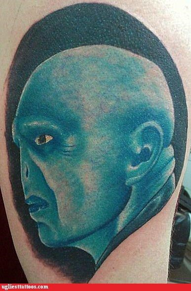 wtf snape tattoos Avatar funny - 4412295424