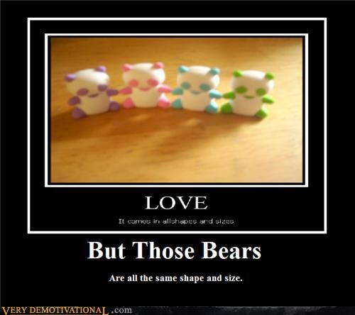 bears,love,shape,size