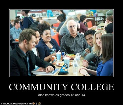 community demotivational funny TV