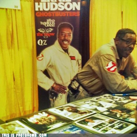 Celebrity Edition,ernie hudson,Ghostbusters,oz,photobomb,The Crow