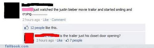 justin bieber Movie tralier witty comebacks - 4412801280