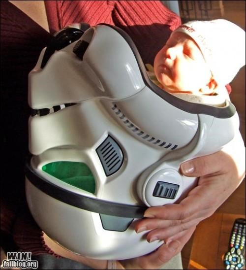 Babies cute nerdgasm star wars