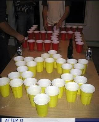 beer pong controversial jew nazi star of david swastika