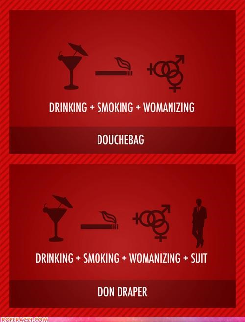 don draper funny Hall of Fame infographic mad men - 4413578240