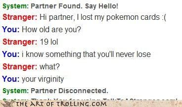 burn cards lost Omegle Pokémon stranger virginity - 4413944320