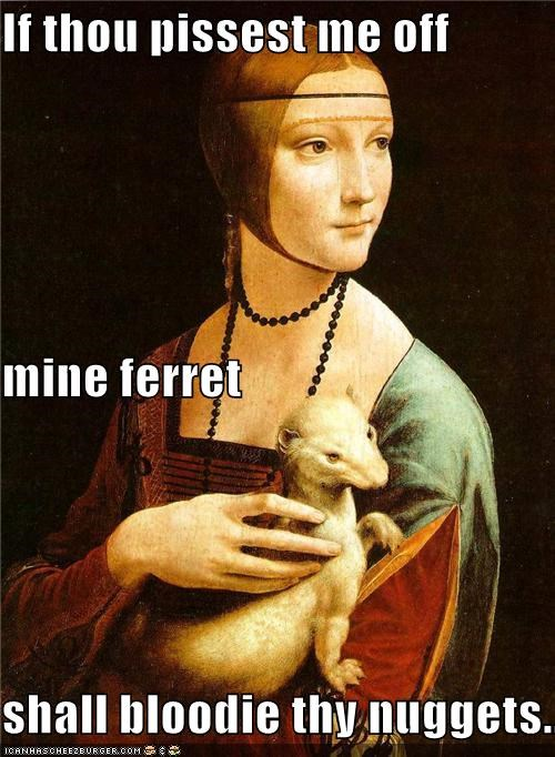 animal art funny painting portrait - 4413994496