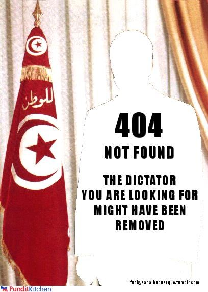 404 error ben ali dictator internet protests riots tunisia - 4415516160