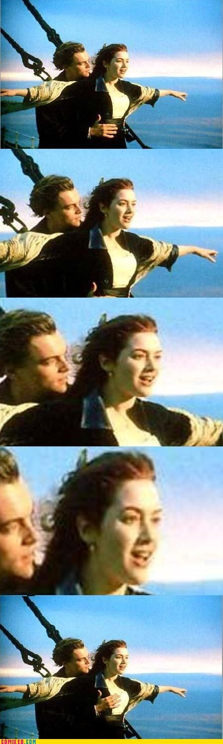 boobs grope history kate winslet leonardo dicaprio lol titanic - 4415603200