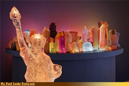 art buildings city Jello mold new york skyline - 4416253952