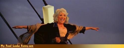 butter,paula deen,romance,titanic