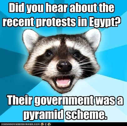 egypt government Lame Pun Coon Protest pyramids - 4416317184