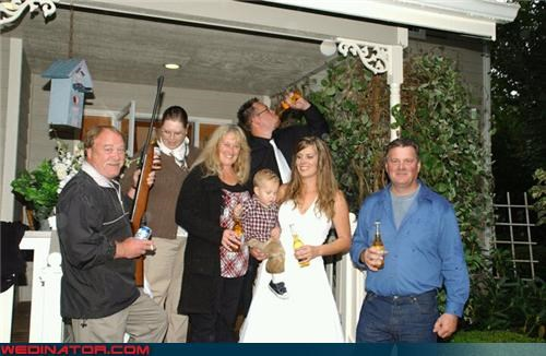 bride casual wedding Crazy Brides crazy groom fashion is my passion funny wedding party picture funny wedding photos groom miller wedding shotgun wedding technical difficulties the high life were-in-love wedding party white trash wedding - 4416331520