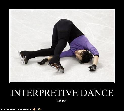INTERPRETIVE DANCE On ice.