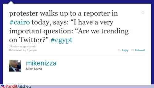 cairo egypt mike nizza protestors reporters tweet twitter - 4416492032