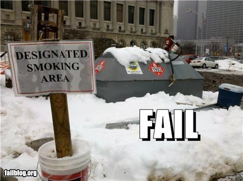 bad idea dangerous failboat safety signs smoking - 4416505344