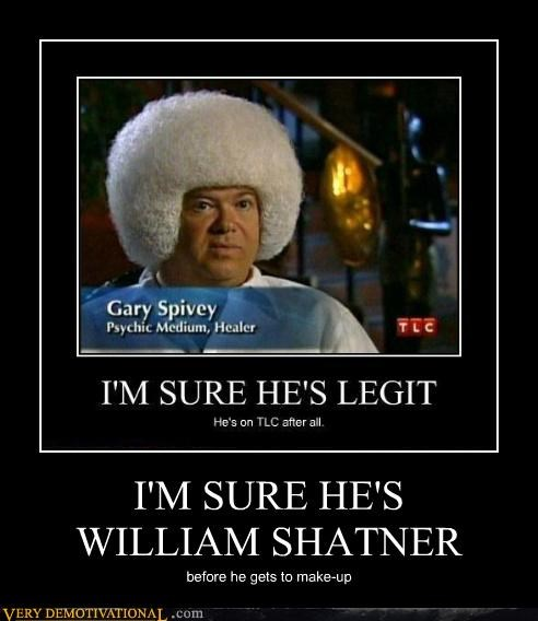 makeup gary spivy William Shatner - 4416767488