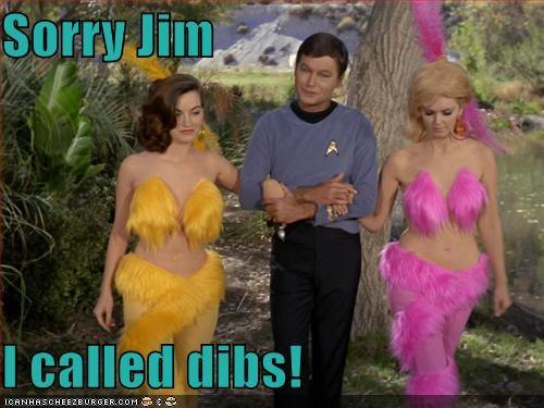 Sorry Jim I called dibs!