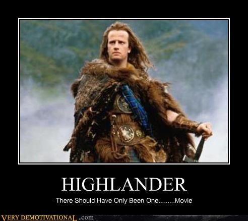 HIGHLANDER There Should Have Only Been One.........Movie