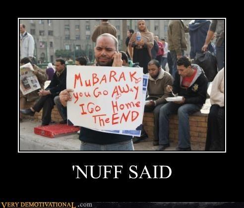 go away Protest Murbarak - 4418349568